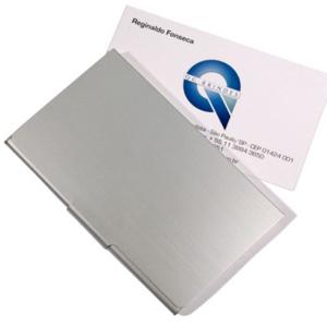 Porta cartão em Alumínio BR239
