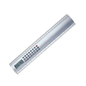 Régua com calculadora BR264