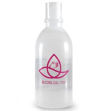 Álcool em Gel 500 ml Personalizado