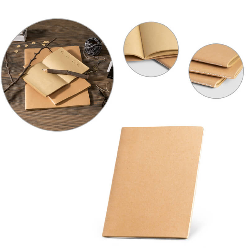Caderno A5 com Capa em Cartão Personalizado