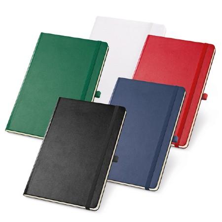 Caderno Capa Dura com Porta Caneta