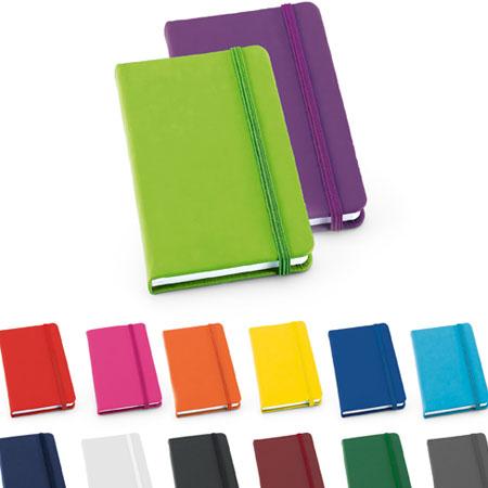 Caderno de anotações com Capa Colorida