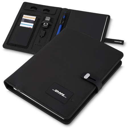 Caderno Executivo Power Bank para Brindes