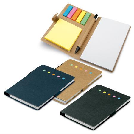 Caderno Personalizado com Caneta e Porta Recados