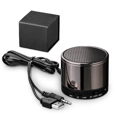 Caixa de Som Personalizada com Transmissão por Bluetooth