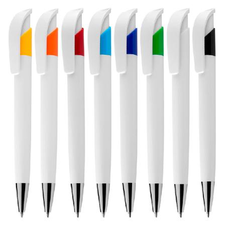 Canetas Plásticas Coloridas