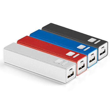 Carregador Power Bank Personalizado 2600 mAh