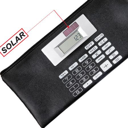 Carteira com Calculadora Personalizada