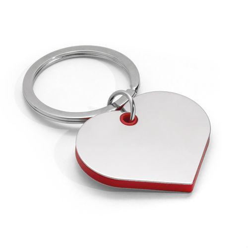 Chaveiro Feminino Coração Personalizado