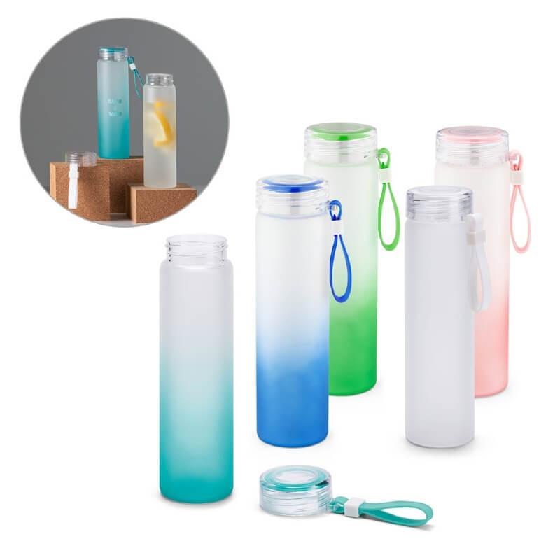 Garrafa Squeeze de Vidro  para Brindes Personalizados