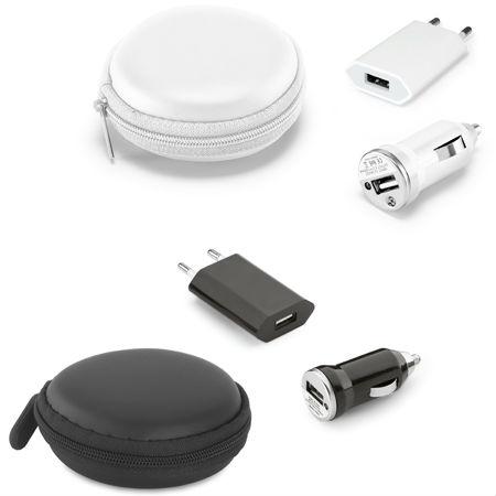 Kit de carregadores USB para Brindes