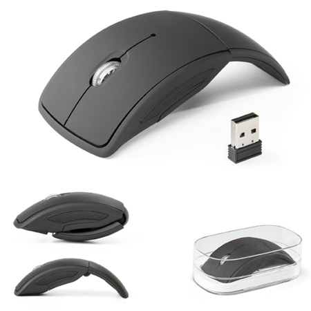 Mouse Wireless Dobrável para Brindes