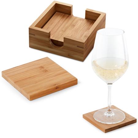 Porta Copos de Mesa para Brindes Personalizados