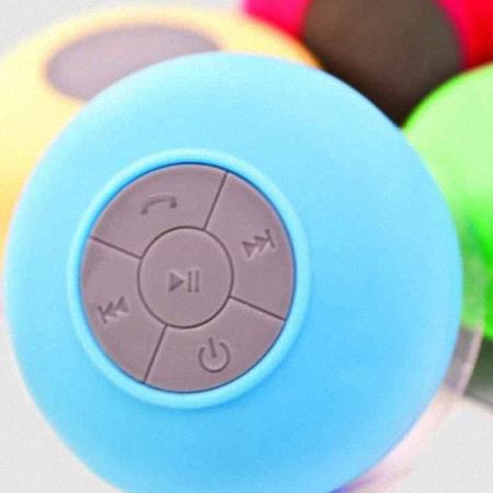 Rádio para chuveiro Bluetooth com funções de telefone